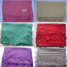 New Pashmina  Shawl Scarf Wrap Choose Colour
