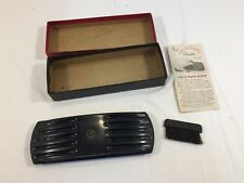 Vintage Electro-Static Cleaner With Original Box, Brush and Brochure