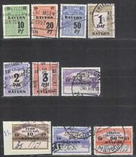 Germany Bavaria court revenues 1957 fiscal