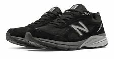 New Masculino Balance 990V4 Made In Eua sapatos Preto Com Prata