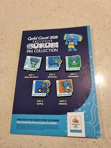 Gold Coast 2018 Exclusive Borob Pin Collection