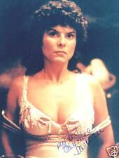 ADRIENNE BARBEAU Signed Photo SWAMP THING / ESCAPE NY