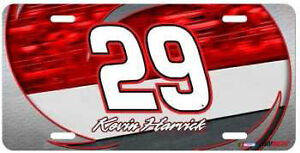Kevin Harvick 2012 Racing Reflections #29 Metal License Plate