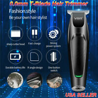Zero Gapped Hair Clippers T-outliner Skeleton Cordless Trimmer Sets Rechargeable