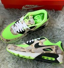 Nike Air Max 90 Green Camo Volt Duck Size UK9 / US10 From SNKRS Authentic lot