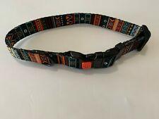 NEW The CollarDirect Tribal Aztec Pattern Nylon Adjustable Dog Collar
