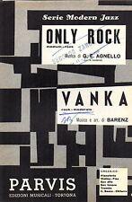 SC15 SPARTITO Only Rock (Agnello)-Vanka (Barenz) -ed.Parvis