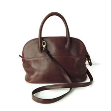 Nieri Argenti Italy Handbag Bag Shoulder Crossbody Bordeaux Leather