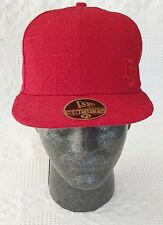 Washington Nationals New Era 59FIFTY Red Fitted Hat Cap 7 1/8