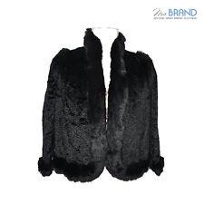 giacca pelliccia sintetica nero in vendita | eBay