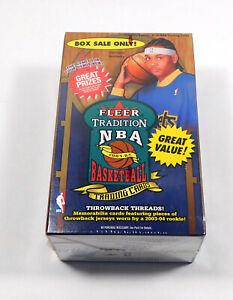 2003-04 Fleer Tradition Basketball Blaster Box Sealed (8 Packs)