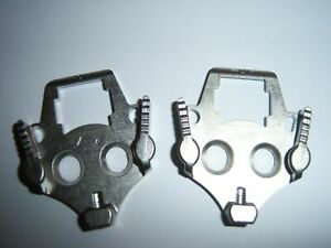 Speedplay Frog Pedal CLEATS Road Mountain Bike Clip In Hardware *NO SCREWS*