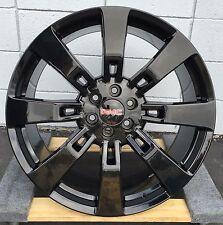 26'' inch GMC Denali Black Wheels Tires Sierra Silverado Avalanche Escalade New
