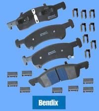 Front Disc Brake Pad Set Semi-Metallic Bendix for Expedition Navigator 2003-06