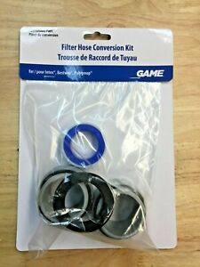 "Game 4560 40mm to 1-1/2"" Filter Hose Conversion Kit"