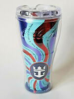 COCA COLA Royal Caribbean Cruise Red Freestyle Souvenir Cup Tumbler EXCELLENT
