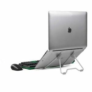 Laptop Stand Aluminum Feet Air Cooling Pad Table High Adjustable 10-17inch Fold