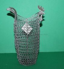Country Chic Metal Wire Chicken Egg Holder Basket