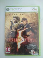 resident evil 5 V gold edition pal fr xbox 360 xbox360