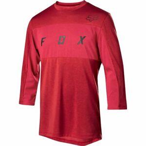 Fox Racing Ranger Dri-Release 3/4 Sleeve Jersey Cardinal