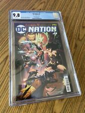 DC NATION #0 CGC NM+ CGC 9.8 Jimenez Variant Cover 7/18