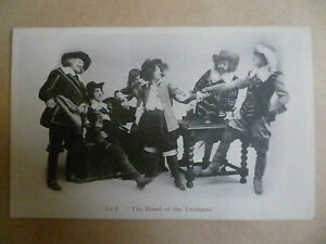 Theatre Actors Postcard- ACT 1: THE BREED OF THE TRESHAMS