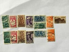 1942 South Africa Nice Small Size Stamps Set. SC 90--97 including Africaans