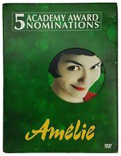 Amelie (Dvd, 2002, 2-Disc Set, Special Edition) Audrey Tautou - Mathieu Kassovit