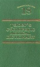 Taber's Cyclopedic Medical Dictionary (18th ed), , 080360193X, Book, Acceptable