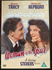 Woman of the Year DVD 1942 Movie Classic w/ Spencer Tracy + Katharine Hepburn