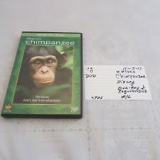 Disney Nature Chimpanzee 2 disc- DVD & Blu-ray- very good condition 1105