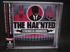 THE HAUNTED Strength In Numbers + 3 JAPAN CD At The Gates The Lurking Fear Tenet