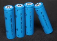 4x Hochleistung Power Akku 18650 Lithium Ionen mit je 8800mAh 4.2V Li-ion