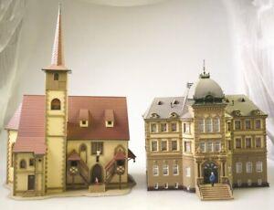 Vollmer H0 25330 Postgebäude + große Stadtkirche Hersteller?
