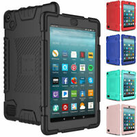 For Amazon Fire HD 8 8inch tablet 2018/2017 Shockproof Armor Silicone Case Cover