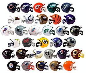 (1) NEW  NFL MINI TEAM HELMET GUMBALL VENDING  CAKE TOPPER (PICK YOUR TEAM!)