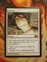 Silence ** 50% Off $30+ ** Magic The Gathering MTG Card - M11
