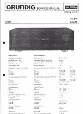 Grundig Service Manual für A 9000
