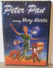 Peter Pan (DVD, 2015) VERY RARE 1960 TV MUSICAL MARY MARTIN BRAND NEW