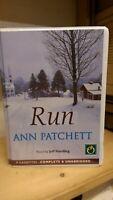 Run by Ann Patchett: Unabridged Cassette Audiobook
