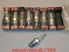 (8).....'NOS' Champion D16 Spark Plugs....18mm..... Engraved - MADE IN U.S.A.