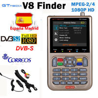 GTMedia V8 Satélite Finder DVB-S2X 1080P HD Digital FTA Sat Signal Finder Meter