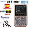 Gtmedia V8 Satélite Finder DVB-S2X 1080P HD Digital FTA Satfinder Signal Meter