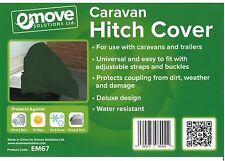Caravan Trailer Heavy Duty Hitch Cover - Green EM67