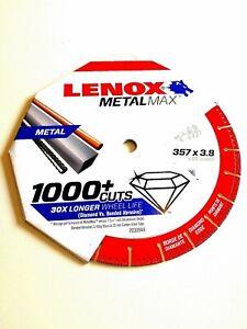Lenox 2030944 MetalMax Diamond Metal Cutting Blade 357x 3.8x 25.40mm