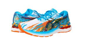 ASICS 1011B153.400 GEL-NIMBUS 23 Mn`s (M) Aqua/Marigold Orange Mesh Running Shoe