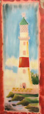 Contemporary European oil painting landscape, lighthouse