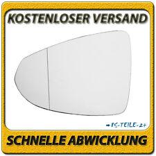 Außenspiegel Spiegelglas für OPEL AMPERA ab 2011 links Fahrerseite asphärisch