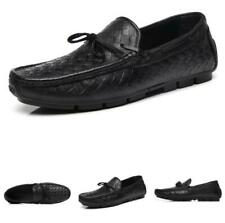 Mens Driving Moccasins Pumps Slip On Loafers Bowknot Casual Faux Leather Shoes L