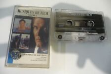 LES MUSIQUES DE FILM DE JAMES BOND SUPERMAN RIVIERE KWAI K7 AUDIO TAPE CASSETTE.